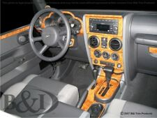 Dash Trim Kit for JEEP WRANGLER 07 08 09 10 carbon fiber wood aluminum