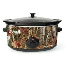 Open Country 8 Qt Slow Cooker - Woodland Birch Design - 380 W - 2 Gal -