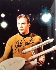 Classic STAR TREK Autograph William Shatner/Kirk Signed 8x10 Photo(LHAU-064)