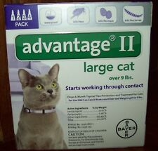 ADVANTAGE II FOR LARGE CATS 4 PACK