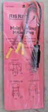 # 445 Rig Rite Male Trolling Motor Plug 3 Wire 10 AWG