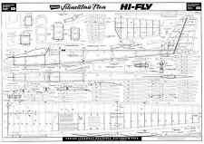 Graupner Hi Fly plans r/c glider
