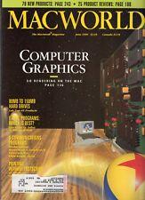 "ITHistory (1990/06) Magazine: MACWORLD ""Computer Graphics; 80-150MB Drives Ads!"