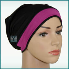 Bonnet Tube 2 colours Cotton Viscose Hijab Cap Head Under scarf bone scarves