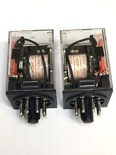 Relay OMRON MK2P-I MK2P AC 24V  24VAC  8 Pin 10A 250VAC 2 pcs