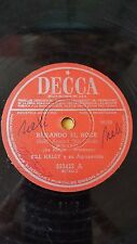 ROCK 78 rpm RECORD Decca BILL HALEY Bailando el Rock / Trece Mujeres