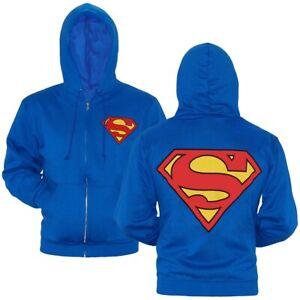 DC Comics Official Superman Splatter Logo Sudadera para Ni/ños