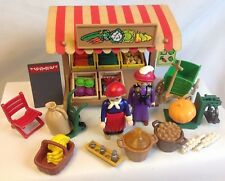 Playmobil 5341 Vintage Victorian Produce Market Stand 5300 Dollhouse Mansion Lot