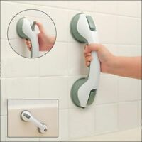 Disability Aid Grab Handle Support Bar Suction Cup Shower Bath Safety Grip Rail