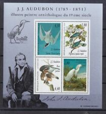 Frankreich 1995 postfrisch Block MiNr. 16  Vogelzeichnungen