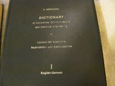Dictionary of Electronics, Communications and Electrical Engineering: Volume 1: