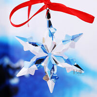 2016 Clear Star Annual Edition Crystal Ornament Christmas Large Snowflake Gift