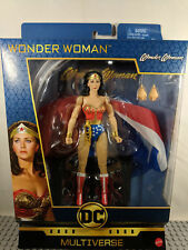 DC Multiverse WONDER WOMAN Lynda Carter Signature Collection Mattel SHIPS 12/12