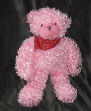 Cepia Gloe Glo Glow E Stuffed Plush Pink Color Kinetic Changing Teddy Bear