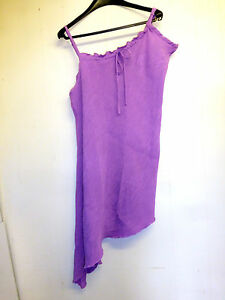 Lovely Purple Asymmetric Crinkle Dress by Being Casual - Size 26 - BNWOT!!