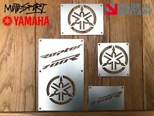 * Yamaha Raptor 700 Plates Fender Tags Badges Warning. 2006 - 2012 * Stainless