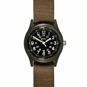MWC US Military Pattern Vietnam Watch Olive Quartz NEW Boxed UK Seller
