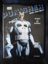 Punisher Mini Series HC 1989 Signed Full Page Head Sketch Mike Zeck