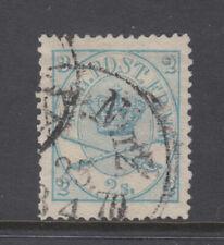 Denmark Sc 11 Royal Emblems 2sk Blue Very Fine Used