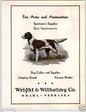 1937 Paper Ad English Setter Liver Color Fire Arms Ammunition Dog Supplies