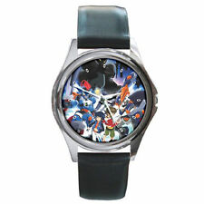 Danball Senki W leather wrist watch
