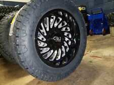 """20x10 Cali Switchback 33"""" Toyo AT Wheel & Tire Package 6x135 Ford F150 Lincoln"""