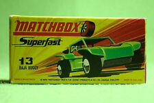 Modellauto - Matchbox - Superfast - Nr. 13 Baja Buggy - OVP