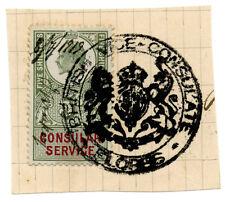 (I.B) Edward VII Revenue : Consular Service 5/- (Flores)