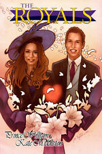 Royals: Kate Middleton and Prince William GRAPHIC NOVEL sold out!  40 pages