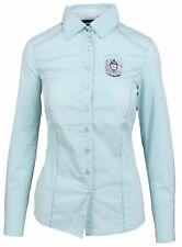 L' ARGENTINA Damen Bluse Women Shirt Größe 38 M Baumwolle & Elasthan Kariert NEU