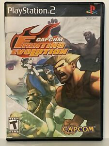 Capcom Fighting Evolution PS2 (Sony PlayStation 2) - CIB Complete and tested