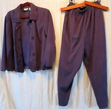 BonWorth SP Purple Pant Suit Polyester