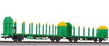 HS Liliput L235242 Zweiteilige Rungenwagen-Einheit  für den Holztransport  ÖBB