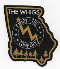 The Whigs 2012 Enjoy The Control Licensed Sew On Unused Patch Mint