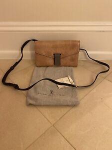 Brunello Cucinelli Mini City Crossbody Bag