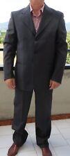 Confezioni Derpa abito 2 pezzi in lana 120's di Fabio TG. 50  grigio come nuovo