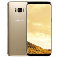 "Samsung Galaxy S8+ Plus SM-G955U 64 Go Désimlocké 4G GSM Téléphones 6,2"" Doré"
