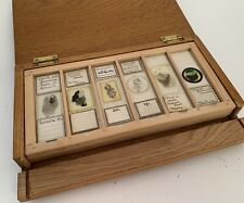 More details for 24 cased antique petrology microscope slides from cornwall