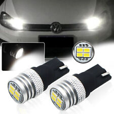 2Pcs Bright Xenon White 6000K T10 W5W 2825 LED Bulbs For Parking Position Light
