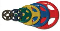 Body-Solid Colored Rubber Olympic Weights 355 lbs ORCT355 Plates Only  *New*
