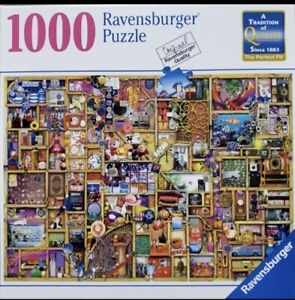 Ravensburger jigsaw Puzzle 1000 Pieces Collector's Cupboard