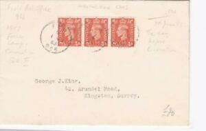 GB POSTAL HISTORY 1953 COVER SPECIAL CANCEL FPO 966 for CORONATION KENSINGTON GD