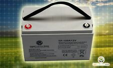 Solar Specific 100Ah 12V Volt  Deep Cycle AGM Battery Rechargeable PV System RV