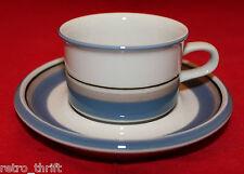 Vintage Arabia Finland Uhtua Espresso Demitasse Cup Saucer Made in Finland Rare