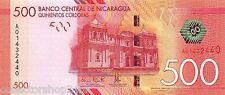 Nicaragua 500 Cordobas 2014 Unc pn 214
