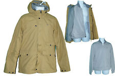 New NIKE Sportswear NSW Parka Jacket and Integrated ( zipped in ) Jacket Ochre M