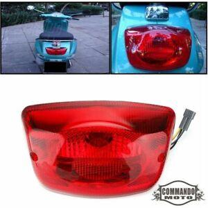 Rear Tail Light Brake Red Lens for Vespa LX 50 125 150 PIAGGIO LX50 LX125 LX150