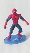 SPIDER-MAN UOMO RAGNO statuina con basetta 10 cm PVC MARVEL g