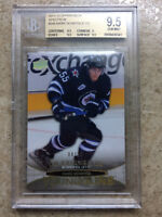 11-12 UD RC Rookie YG Young Guns MARK SCHEIFELE HG High Gloss /10 Graded BGS 9.5