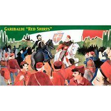 LUCKY Toy 0009 Garibaldi Camicie Rosse 1/72 figure modellino in scala in plastica